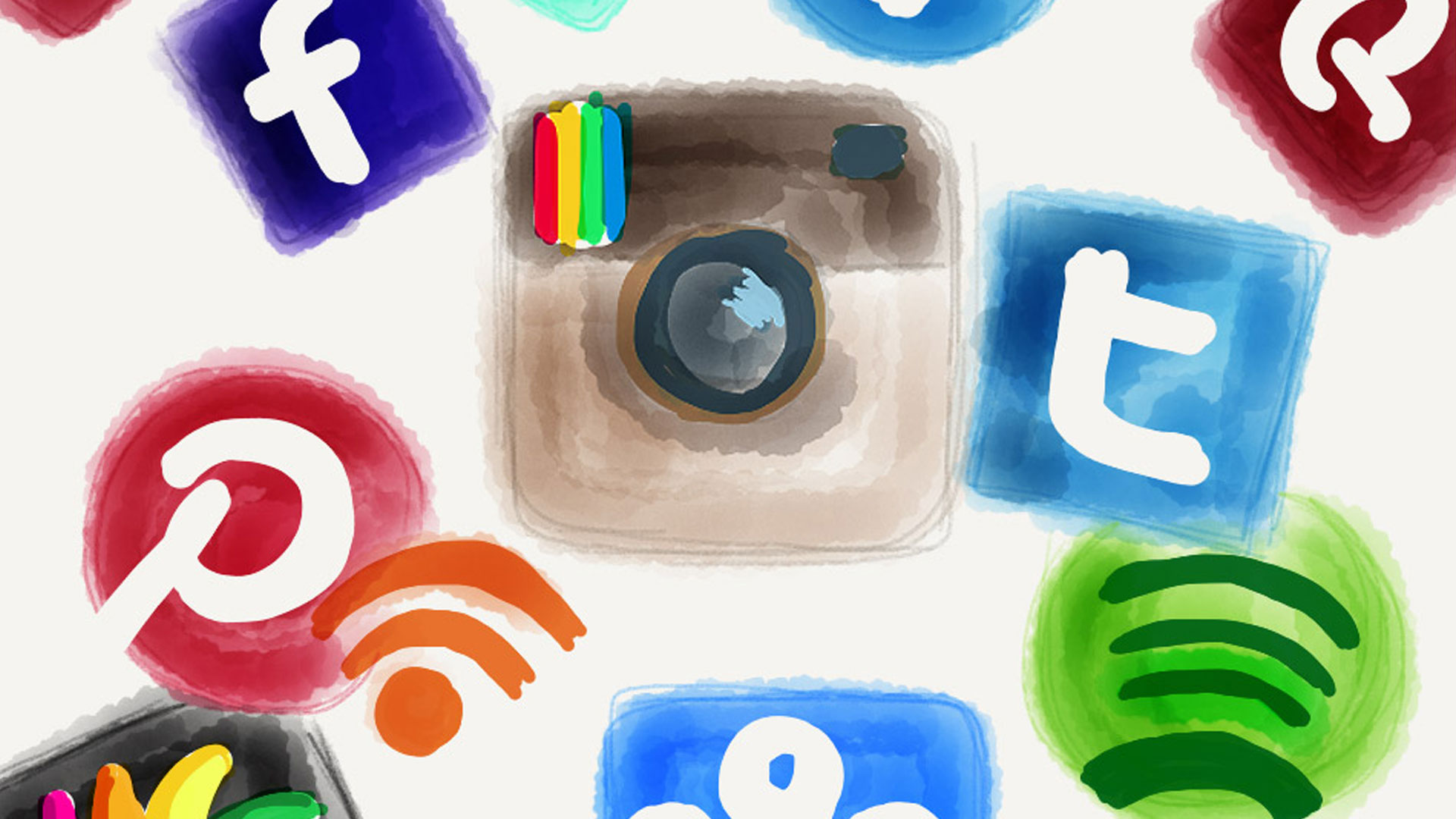 Collage of Digital (Social) Networks by Tanja Cappell via Flickr