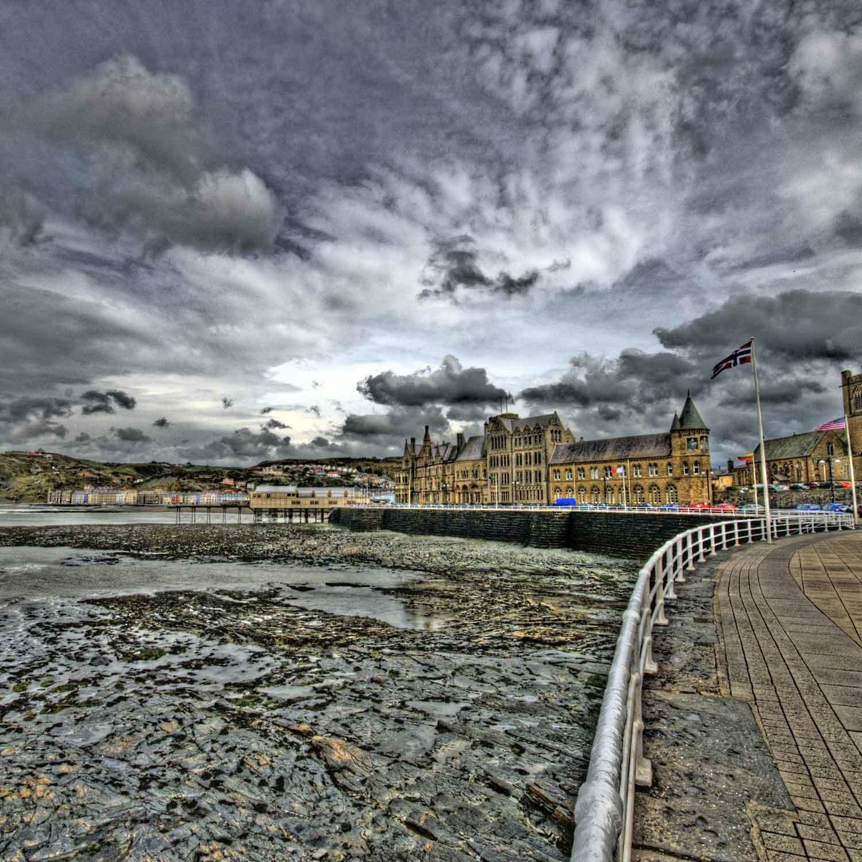 Aberystwyth. Photocredit: Bs0u10e0 via Flickr