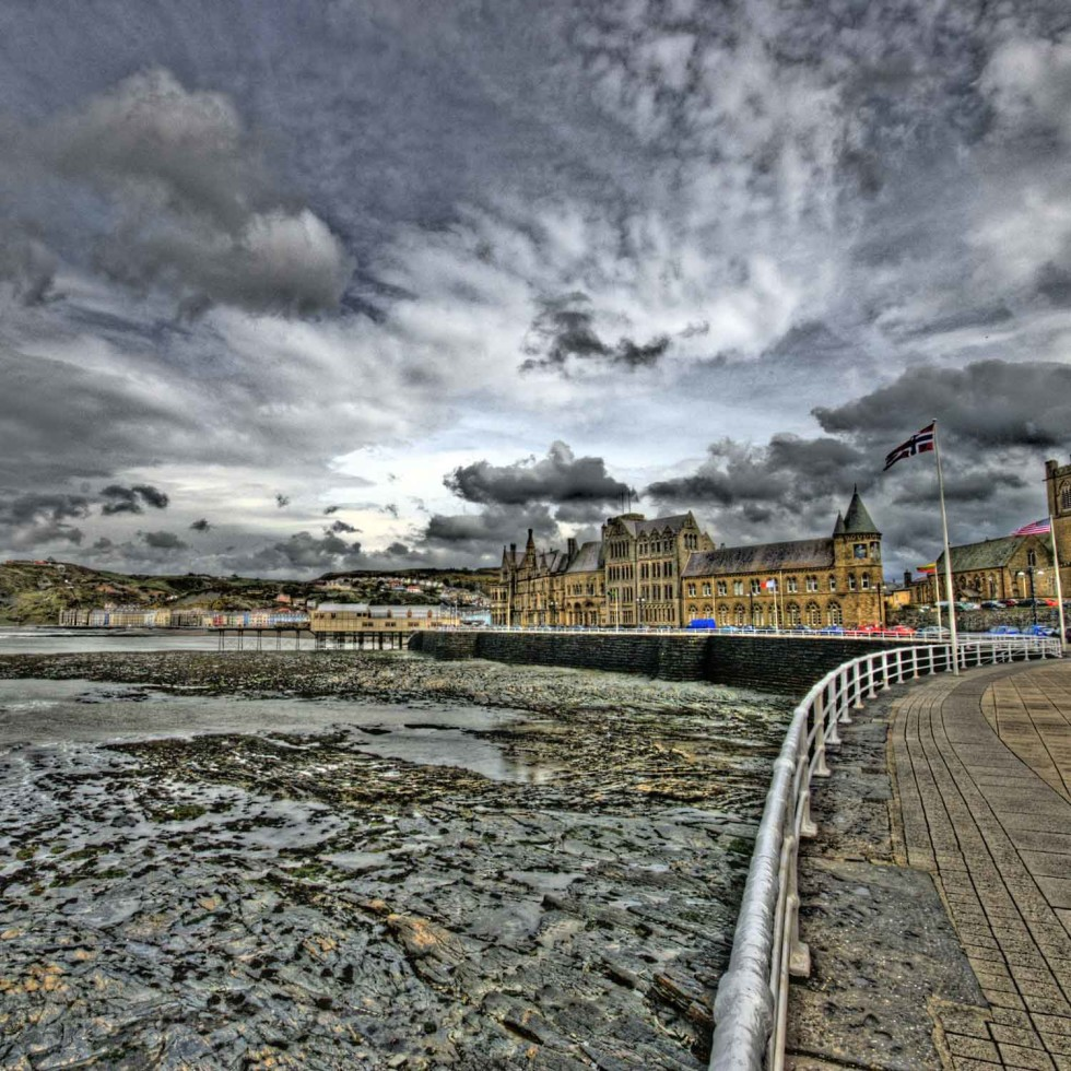 Aberystwyth. Photocredit: Bs0u10e0 via Flickr