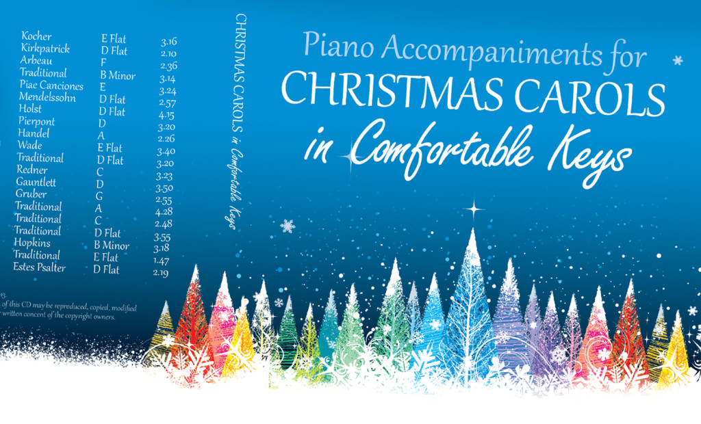 Carols in Comfortable Keys Artwork